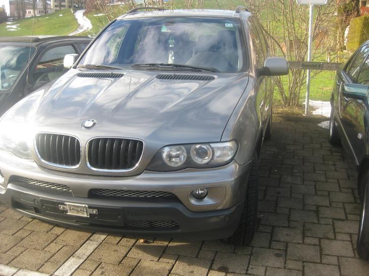 bmw x5 3,0 td jg 2004 km207000 ,ps218 Fahrzeuge