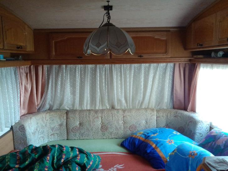 Camping Auflösung von Wohnanhänger mit Festem Vorzelt Sonstige 3