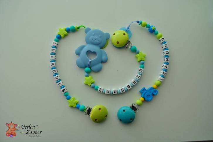 Nuggiketten, Beissketten, Windeltorte und co Baby & Kind 2