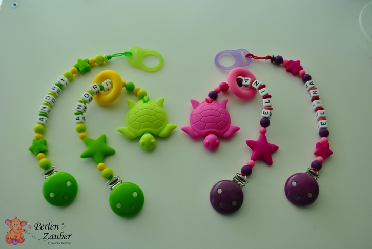 Nuggiketten, Beissketten, Windeltorte und co Baby & Kind 4