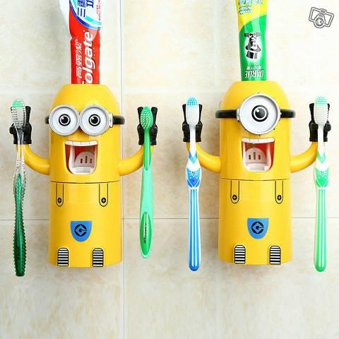 Minions Zahnpastaspender Baby & Kind 2