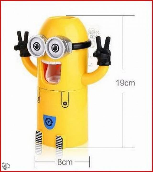 Minions Zahnpastaspender Baby & Kind 4