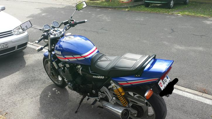 Yamaha XJR 1200 wenig Km ab MFK Fahrzeuge 3