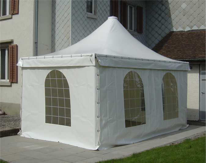 PVC Zelt, Pavillon, Carport, Rauchrezelt, Weidezelt, Smokerzelt, Unterstand Garten & Handwerk
