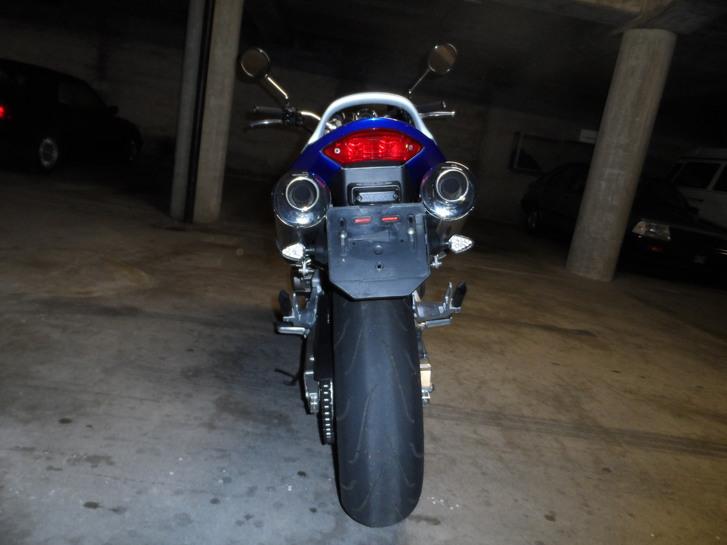 Motorrad Honda CB 900 Hornet Fahrzeuge 2