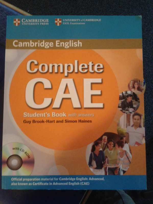 complete CAE students book with CD Bücher