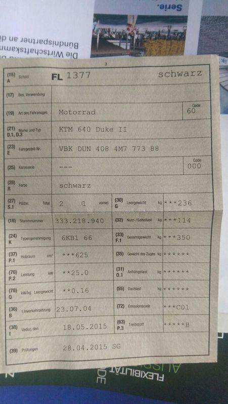 KTM schwarz zu verkaufen Fahrzeuge 2