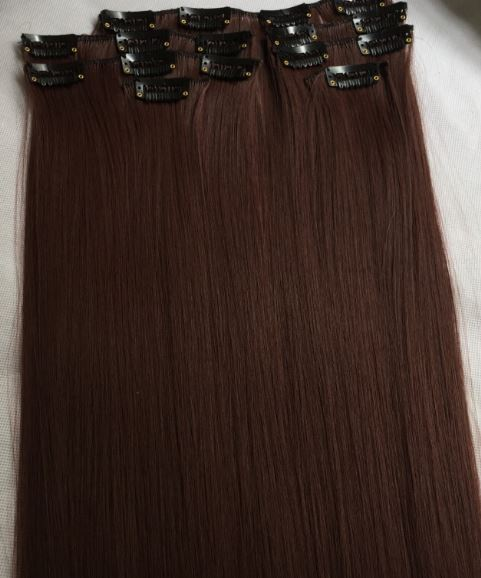Haarverlängerung Clip in Extensions 100- 300Gramm- FULL HEAD Sonstige