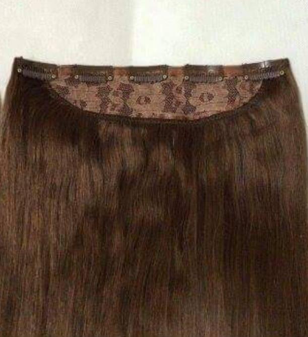 Haarverlängerung - Clip in - auf einem Stück Sonstige