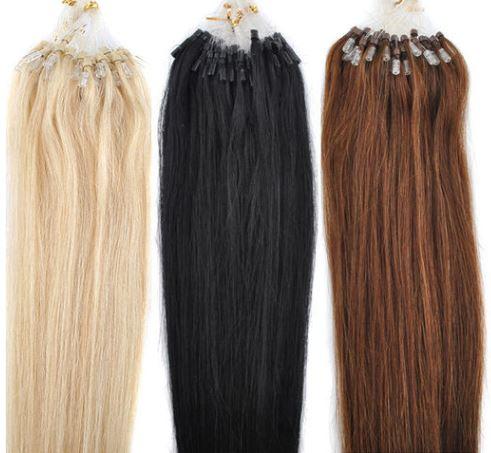 Haar-Haarverlängerung - Microring Extensions - 100% Echthaar Sonstige