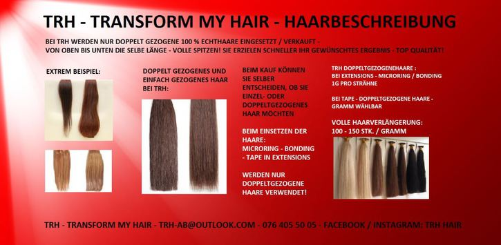 Haar-Haarverlängerung - Microring Extensions - 100% Echthaar Sonstige 4