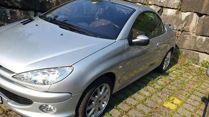 Peugeot 206 1.6 Cabrio Fahrzeuge