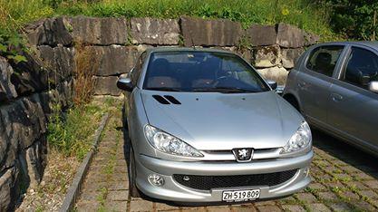 Peugeot 206 1.6 Cabrio Fahrzeuge 3
