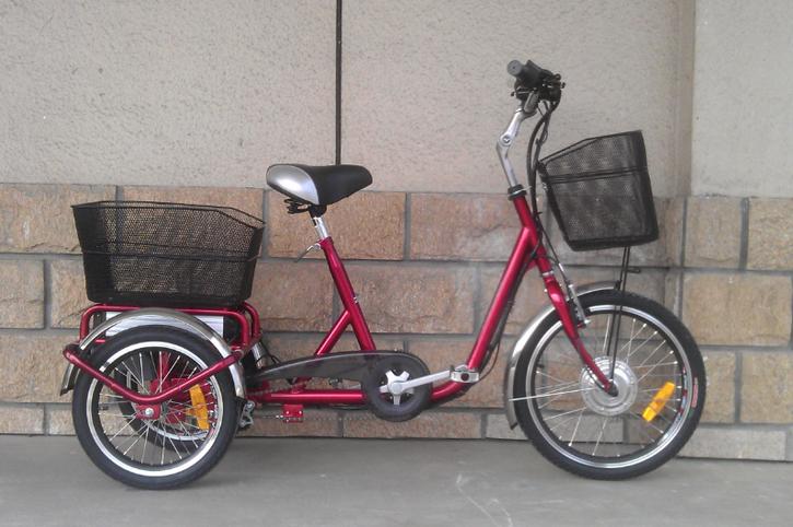 Elektro Dreirad Fahrzeuge 4