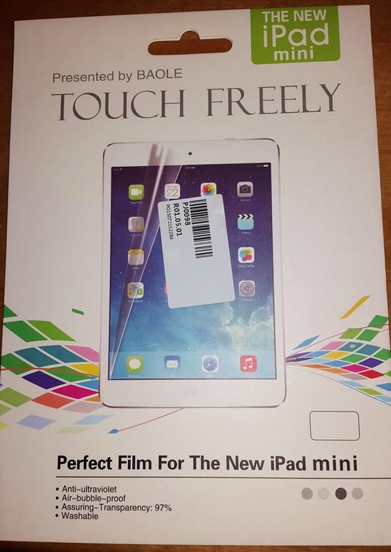 Schutzfolie iPad Mini 1-4 + Mikrofasertuch Computer & Zubehör