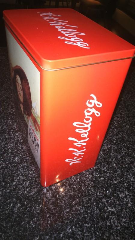 Kellogg's Alubox 50er Jahre Style / neu Haushalt 3