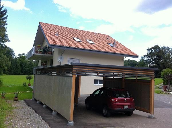 BE: Carport-Parkplatz in Forst b. Längenbühl Immobilien