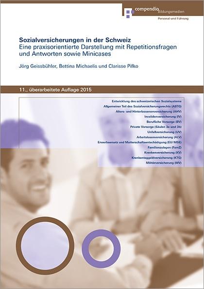 Buch: Sozialversicherungen der Schweiz 2015 - Compendio Bücher