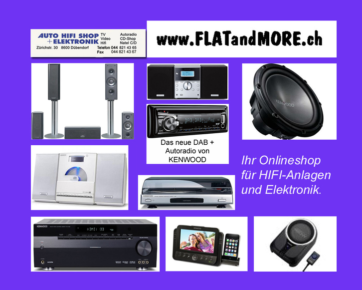 KENWOOD - CAR HOME HIFI - MARINE TV & Audio