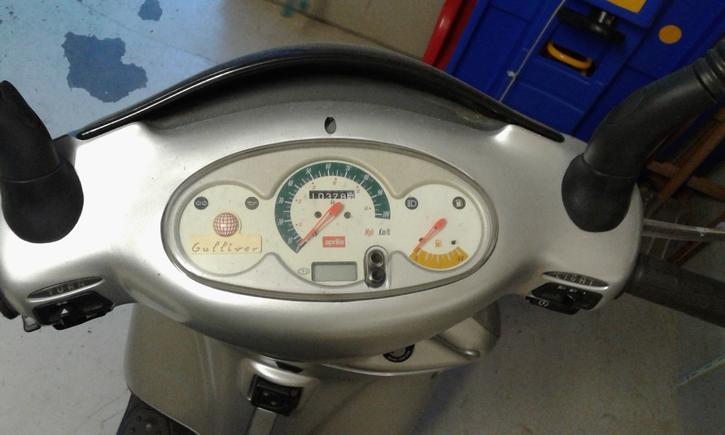 Roller Aprilia Gulliver 50 Fahrzeuge 4