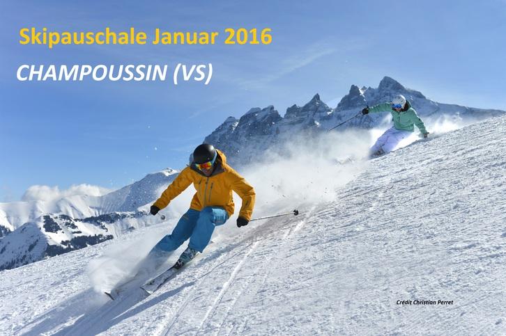 Ski Ferien im Wallis - Spezial Skipauschale Immobilien