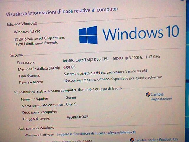HP Compaq dc7800p Business 6 gb windows10pro attivato Computer & Zubehör 3