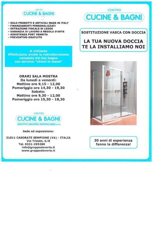 Sostituzione vasca da bagno con doccia Haushalt