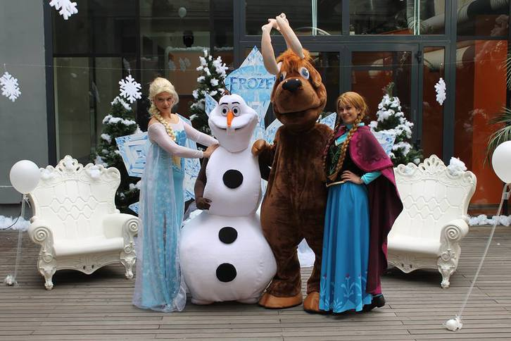 festa a tema Frozen Sonstige