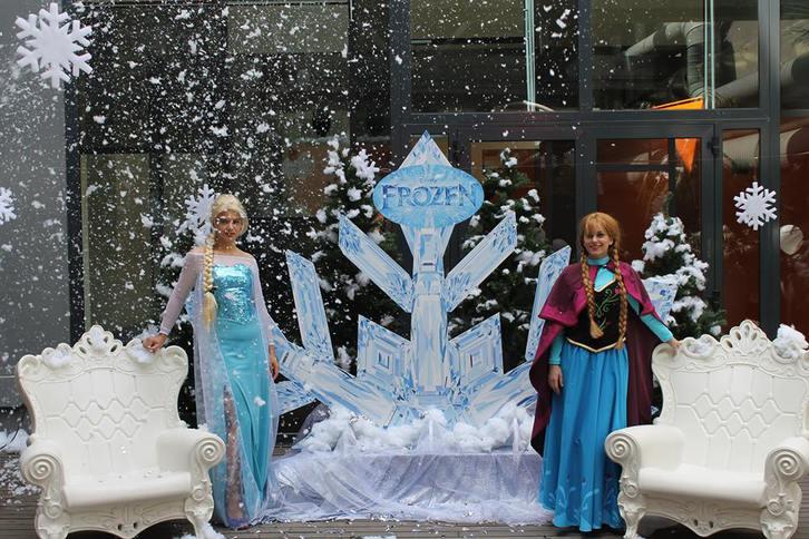 festa a tema Frozen Sonstige 2