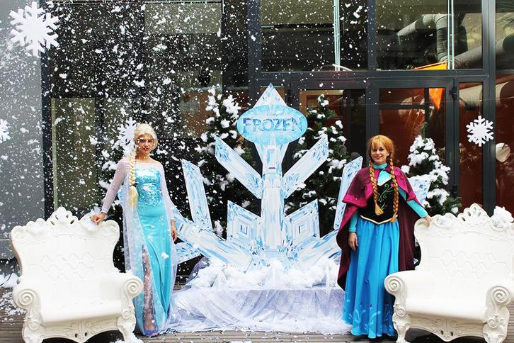 festa a tema Frozen Sonstige 4