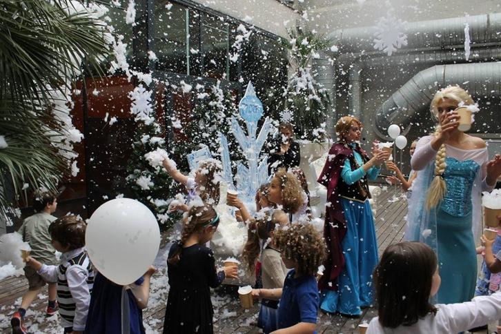 Festa di compleanno a tema Frozen  Stellen & Kurse 4