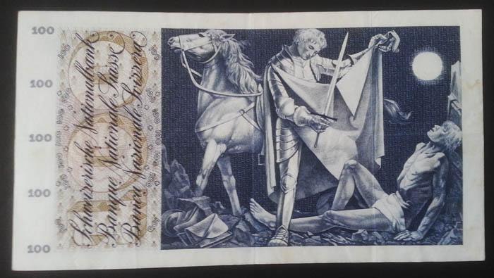 banconote 100 franchi svizzeri Sammeln 3