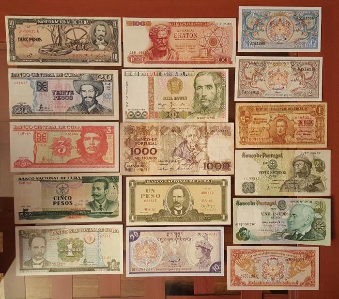 banconote mondiali Sammeln