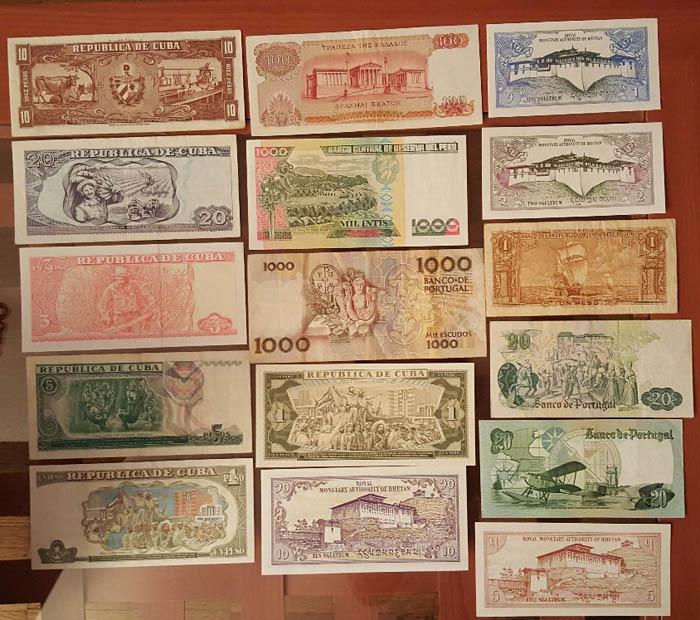 banconote mondiali Sammeln 2