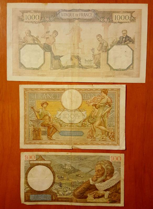 banconote francesi Sammeln
