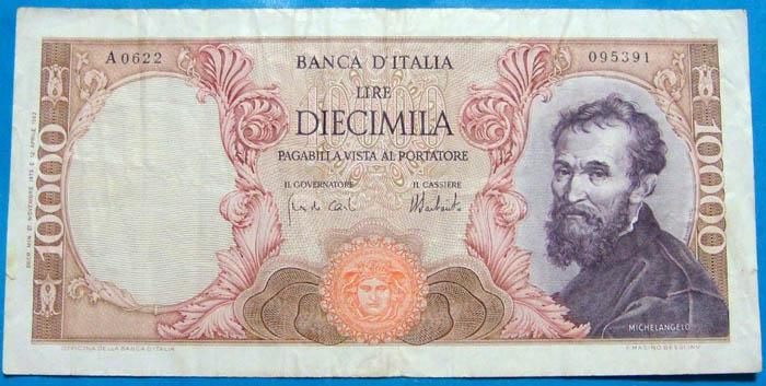 banconota 10000 lire Sammeln