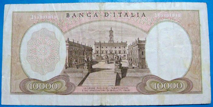 banconota 10000 lire Sammeln 2