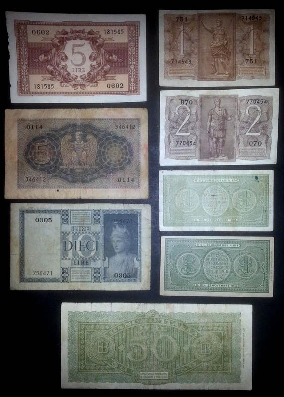 banconote Italia lotto 4 Sammeln 2