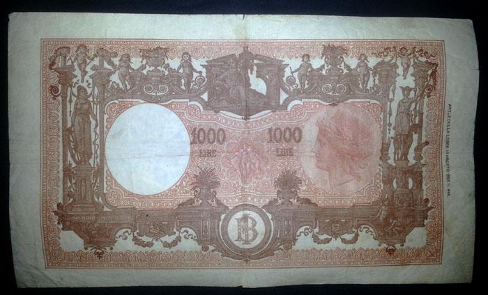 banconota 1000 lire 1946 Sammeln 2