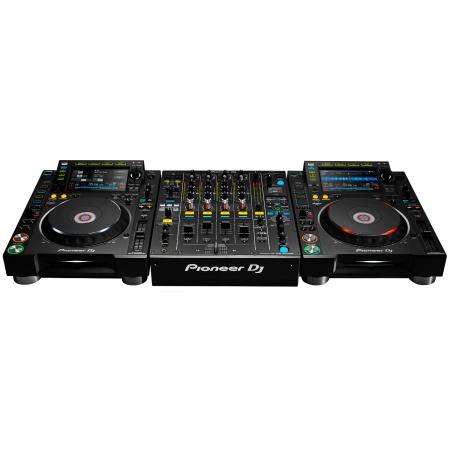 2x Pioneer CDJ-2000NXS2 & Pioneer DJM-900NXS2 Mixer Full Complete Set Musik