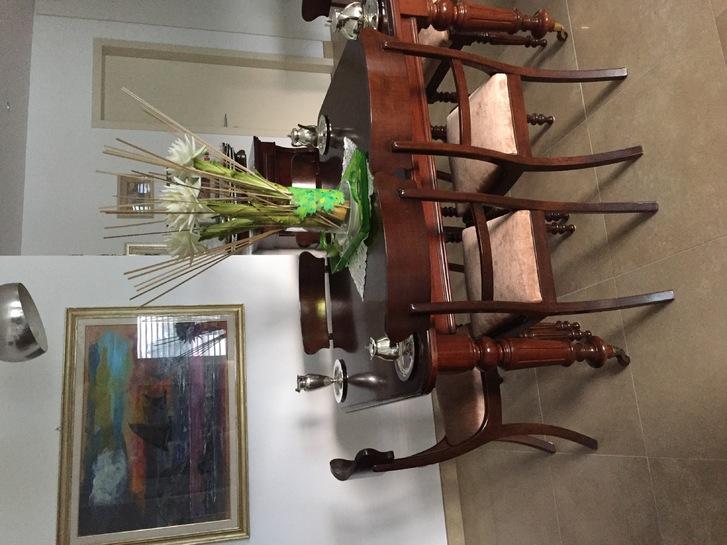 Tavolo antico allungabile con 4 sedie  Antiquitaeten 2