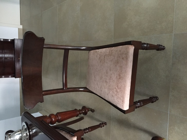 Tavolo antico allungabile con 4 sedie  Antiquitaeten 3