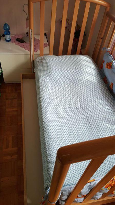 Vendo  Culla  Baby & Kind 2