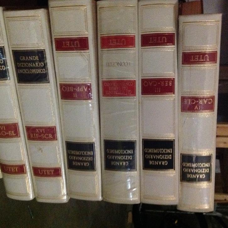 Grande dizionario enciclopedico UTET Bücher