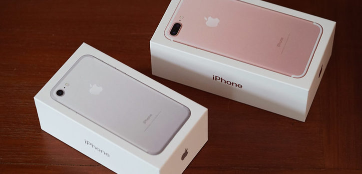 iPhone 7 e iPhone 7 plus con iOS 10 Telefon & Navigation
