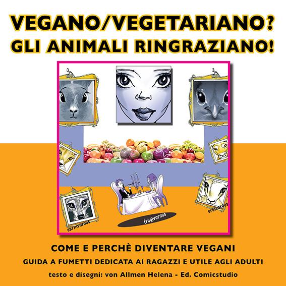 Vegan, Vegetariano:  guida a fumetti per ragazzi Bücher
