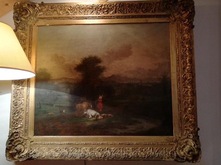 Quadro olio su tela Antiquitaeten