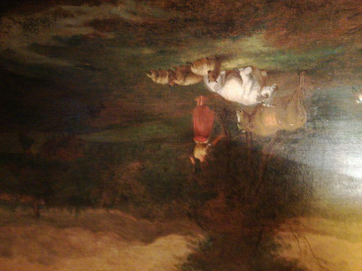 Quadro olio su tela Antiquitaeten 2