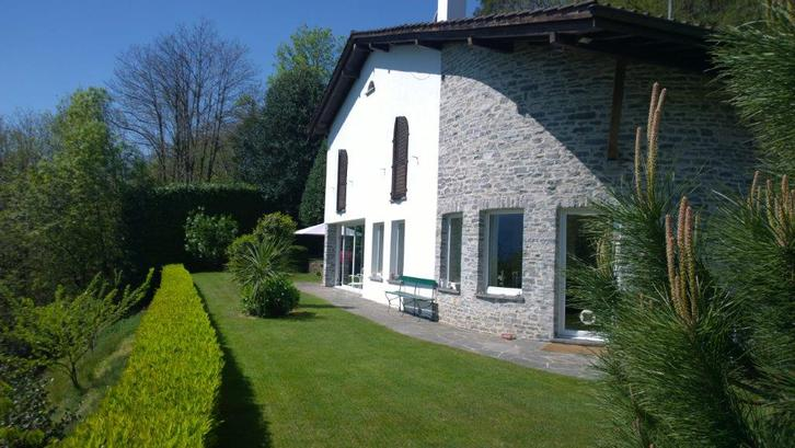 Affitto Villa sopra Brissago, piscina, giardino accesso macchina Immobilien 2