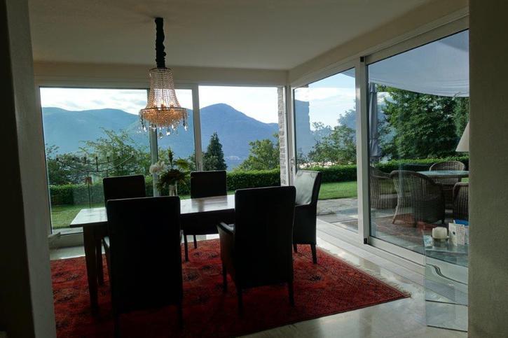 Affitto Villa sopra Brissago, piscina, giardino accesso macchina Immobilien 4